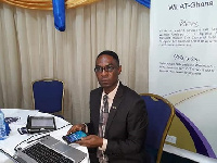 Ebo Hammond, President of the Chartered Institute of Logistics and Transport