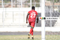 Kumi was the first to score when he finished off a brilliant move in the 26th minute