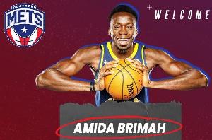 NBA player, Amida Brimah