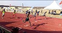 The accra edition of the GNPC Ghana Fastest Human  happened on Saturday