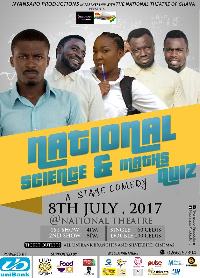 Nyansapo productions is the producer for National Science and Maths Quiz comedy