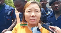Helen Huang is reported to have jumped bail forcing the court to hold the journalist responsible