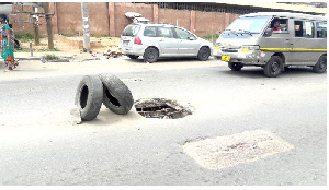 some ceremonial roads and prime areas in the city are gradually being consumed by weeds
