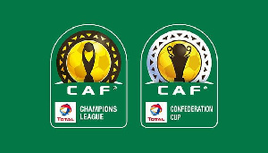 CAF inter club competitions logo