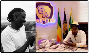 Stonebwoy (L) and Shatta Wale