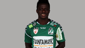 Ruben Acquah plays for SV Ried