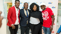 Lydia Forson, Reggie N Bollie and other at the launch