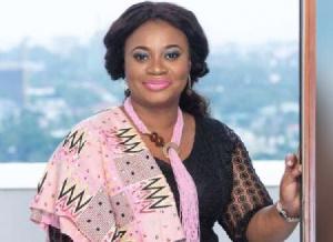Charlotte Osei EC Boss Wears Pink Accessories