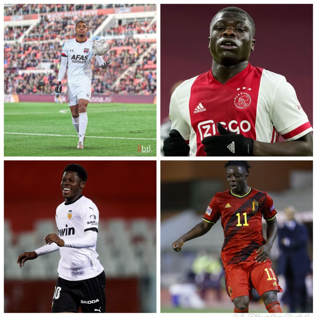 Ghanaian quartet earn nomination for 2021 Golden Boy award