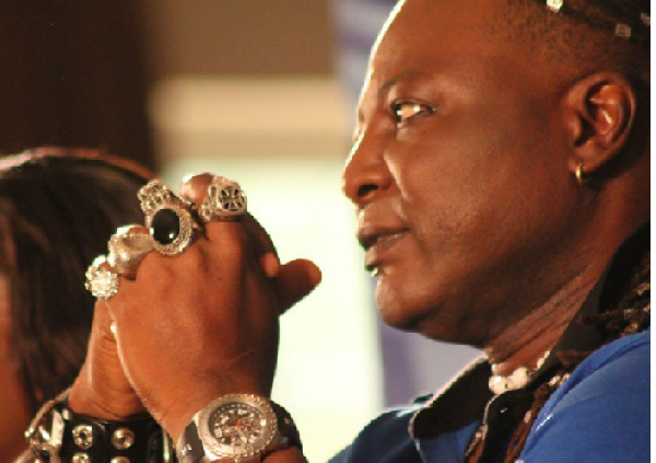 Charles Oputa popularly known as 'Charly Boy'