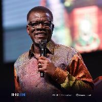 Pastor Mensa Otabil, founder of the International Central Gospel Church (ICGC)