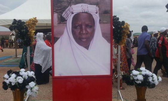 President John Dramani Mahama's mother, late Abiba Nnaba Mahama was buried June 17, 2016
