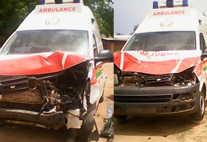The robbers killed the ambulance driver