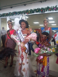 Miss Abena Akuaba Appiah, the beauty queen universe