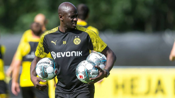 Otto Addo lifts the lid on his coaching career at Dortmund