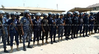 Some Police personnel