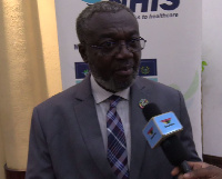 Director General for Ghana Health Service, Dr Nsiah-Asare