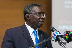 Professor Kwabena Frimpong Boateng, Minister for Environment, Science, Technology and Innovation