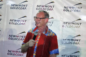 Joep Coenen, outgoing Manager of Newmont Goldcorp Akyem Mines
