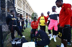 Black Stars' second training session ahead of Canada friendly