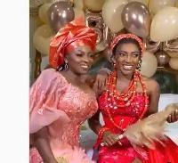 Yvonne Okoro and her sister Roseline