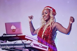 DJ and music producer,  Cuppy