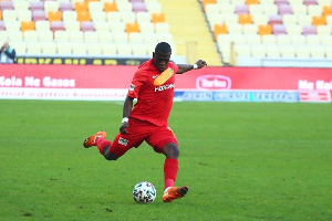 Afriyie Acquah In Action For Yeni Malatyaspor