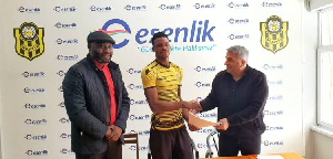 Philip Gameli Played For Division One League Side, Okyeman Planners