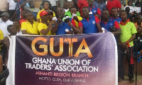 Members of the Ghana Union Trader's Association