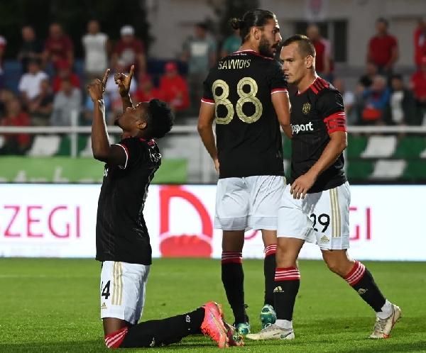 Ghanaian striker, Kelvin Boateng