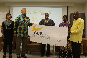 The donation which is the first of its kind by a financial institution in the country