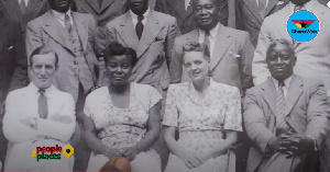 Seated second from the left is Adeline, mother of President Nana Akufo-Addo