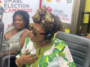 Mzbel (Nana Ekua Amoah) is a musician