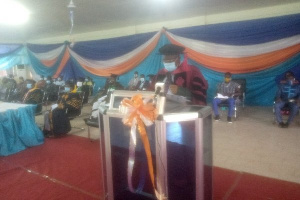 Chairman of the Governing Council of Bolgatanga Technical University, Professor Francis Abantanga