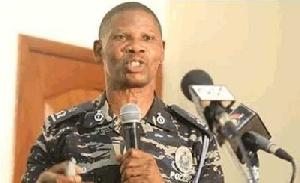 Assistant Commissioner of Police (ACP) Benjamin Agordzo