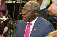 Senior Minister Yaw Osafo Maafo