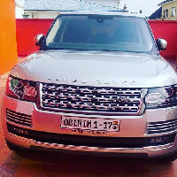 Bishop Obinim's new car
