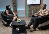 Cecilia Anno-Barnieh and Psychologist, Seth Mawusi Asafo