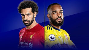 Its the 55th meeting of Arsenal and Liverpool in the Premier League