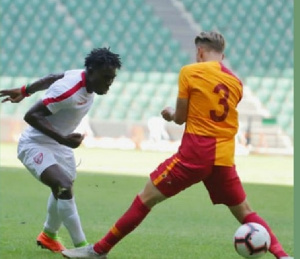 Patmos Arhin performed well in the match