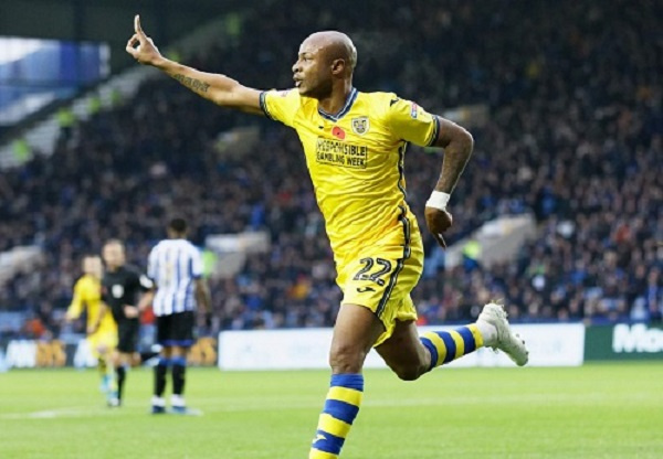 Andre Ayew buzzing over Swansea City form after victory against Birmingham City