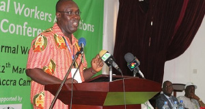Secretary-General of the TUC, Dr Anthony Yaw Baah