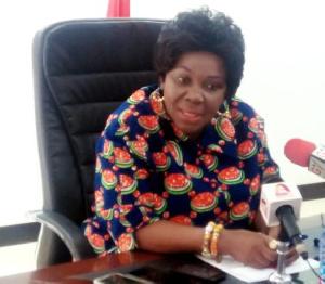 Cecilia Dapaah   Aviation Minister