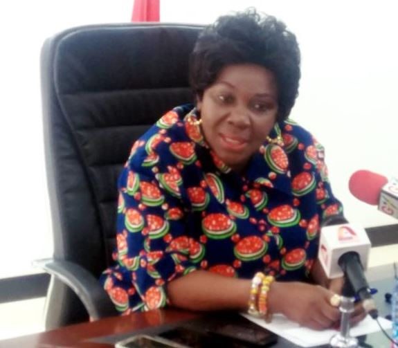 Newly-appointed Minister of Sanitation and Water Resources, Cecilia Dapaah