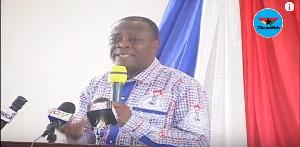 Prof George K.T Oduro, Vice-Chancellor of the University of Cape Coast
