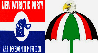 NPP and NDC flags