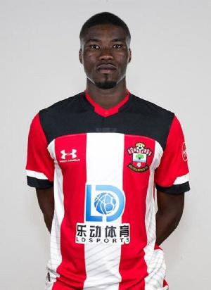 Southampton defender Kevin Danso
