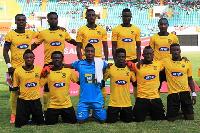 Kotoko will face Zambian giants Nkana FC on Sunday