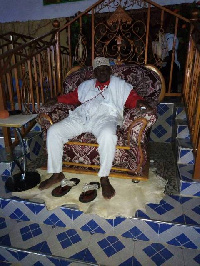 Prophet Torgbe Kwaku Anaglasi, Founder of the New Gavriel Enlightenment Traditionalist Church