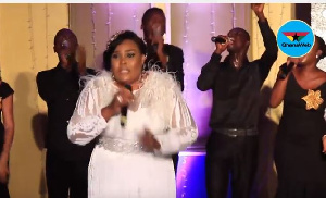 Ghanaian gospel musician and songwriter Ceccy Twum